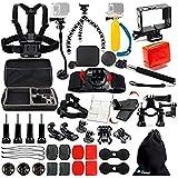 Ozone Accessories Set Sports Combo Set for GoPro Hero 5 / Hero 6 / SJCAM/Yi Action Camera