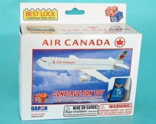 Daron Air Canada Construction Toy (66-Piece) (Daron Air Canada)