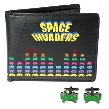 Space Invaders Juego: Cartera (Monedero/dinero Bolsa ...