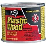 Dap 21502 Plastic Wood Filler 4-Ounce
