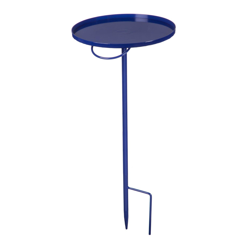Evergreen Garden Azure 28-inch Portable Staked Garden Table