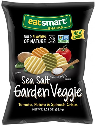 Eatsmart Snacks, Sea Salt Garden Veggie Chips, 1.25 oz. (32 Count)