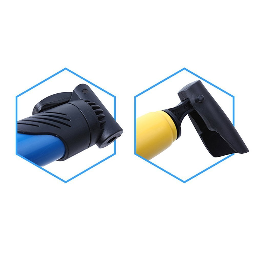 compact Energystation bicycle air pump quick and easy durable telescopic and portable 120 PSI alloy small bicycle pump for Presta and Schrader air valves