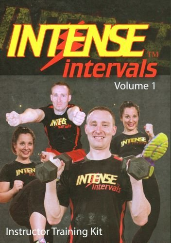 Intense Intervals Instructor Training Kit DVD, CD & Booklet by