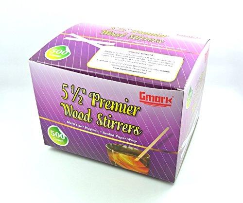 ed Premier Wood Stirrers 500/Box GM1011 ()