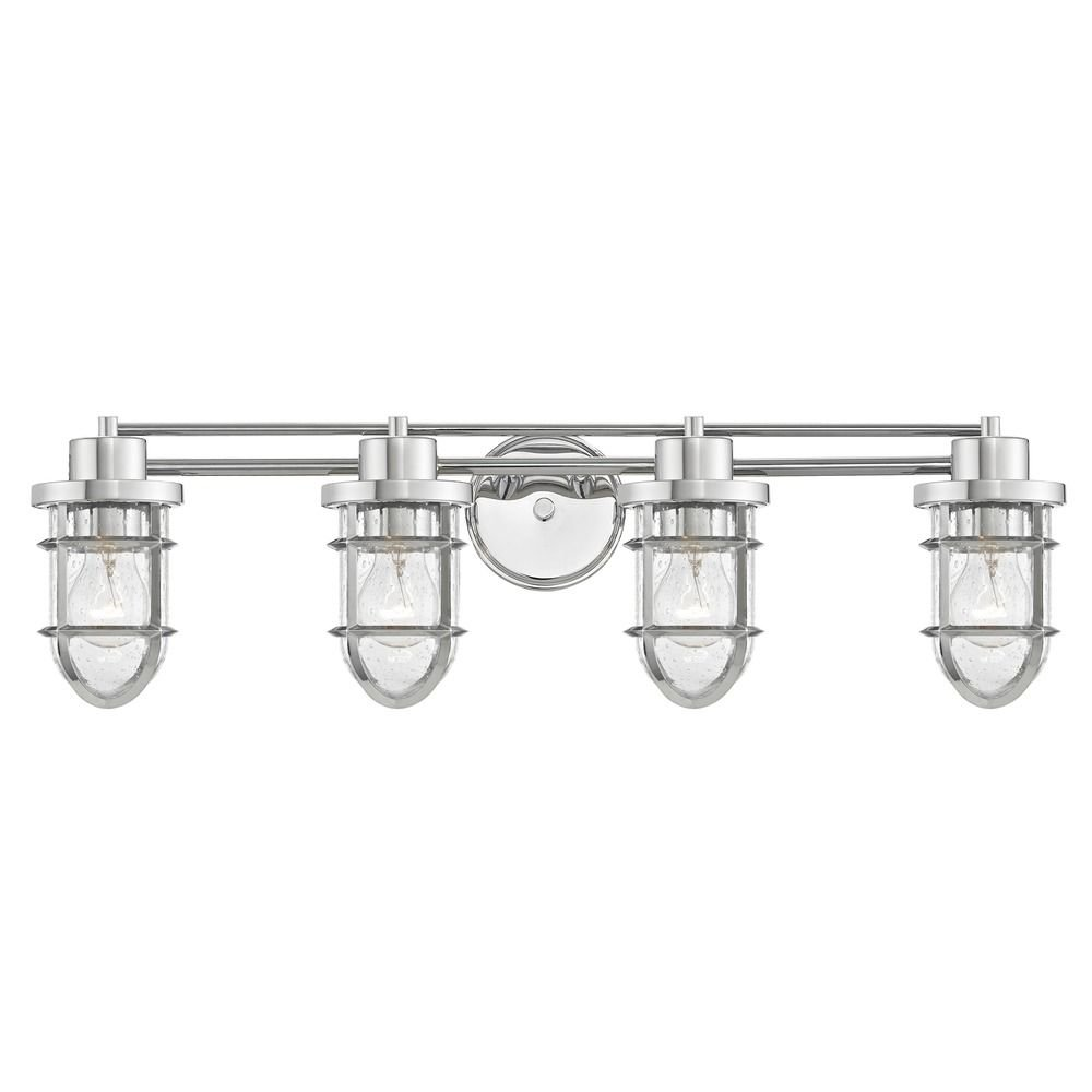 Progress Lighting P2016-09 Bravo 5-Lt. Bath and Vanity Fixture with Etched glass shades