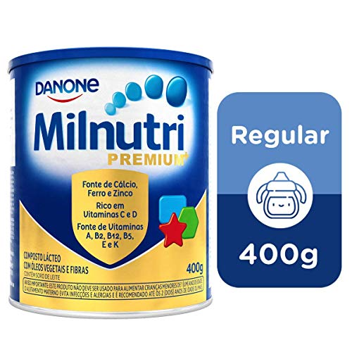 Composto Lácteo Milnutri Premium Danone Nutricia 400g