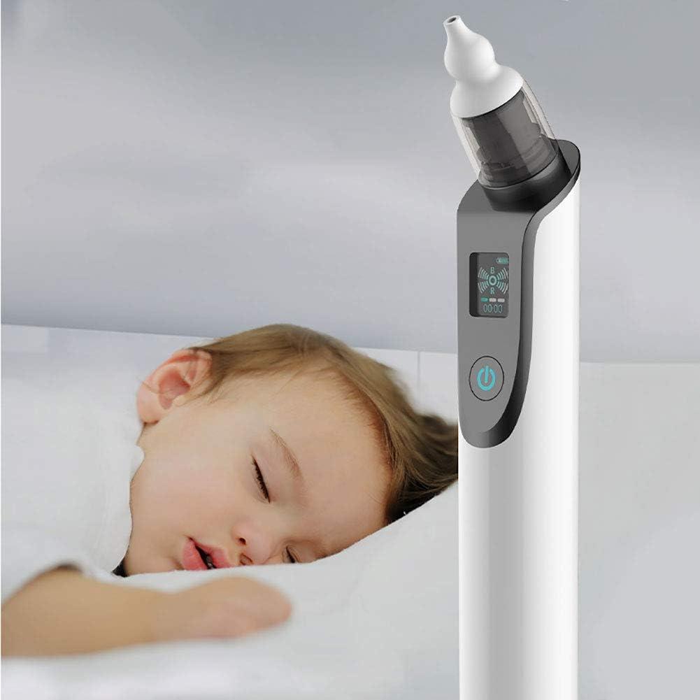 WDXIN Aspirador Nasal Bebe Electrico Pantalla LCD Carga USB con 5 ...