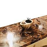 granite kitchen countertops Granite Countertop Dark Emperador Granite Self Adhesive Vinyl Granite 36 inches W x 144 inches L
