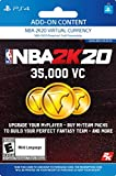 NBA 2K20: 35000 VC Pack - [PS4 Digital Code]: more info