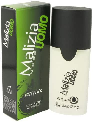 Malizia Uomo Eau De Toilette Spray 1.7 Oz for Men