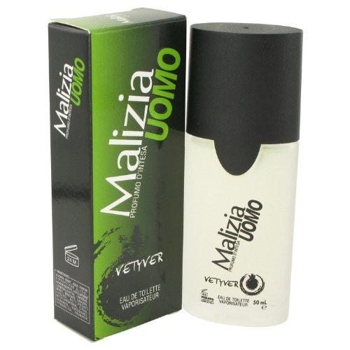 (Malizia Uomo by Vetyver Men's Eau De Toilette Spray 1.7 oz - 100%)