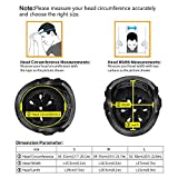 KUYOU Helmet ABS Hard Rubber with Adjustment for