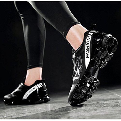 Hommes Respirant Maille Chaussures De Course Chaussures De Randonnée Anti-dérapant Chaussures Antidérapantes 1 aOCqpAhC
