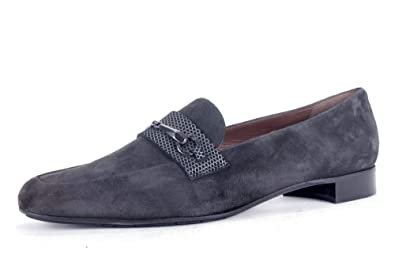 9c619454006 CALAND/SCHOEN Women's Loafer Flats Grey Grey/Silver: Amazon.co.uk ...