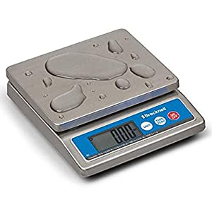 Brecknell Model 6030 Washdown IP67 Stainless Portion Control Scale 5000g x 1g / 10lbs x .002lbs NSF Certified