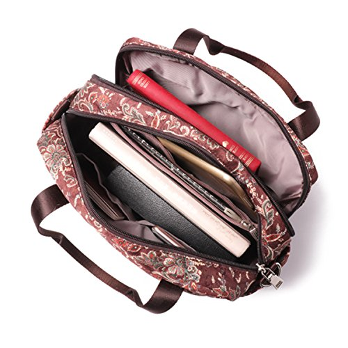 floraux main à air bandoulière de occasionnels à voyage grande à Brenice sacs d'épaule de en multicouche sacs plein main de capacité Sac HUfqvdwf