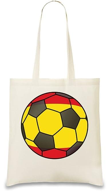 Amazon.com: España fútbol personalizado impreso bolsa bag ...