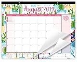 bloom daily planners 2019-2020 Academic Year Desk/Wall Calendar (August 2019 Through July 2020) - 21'' x 16'' - Seasonal Designs