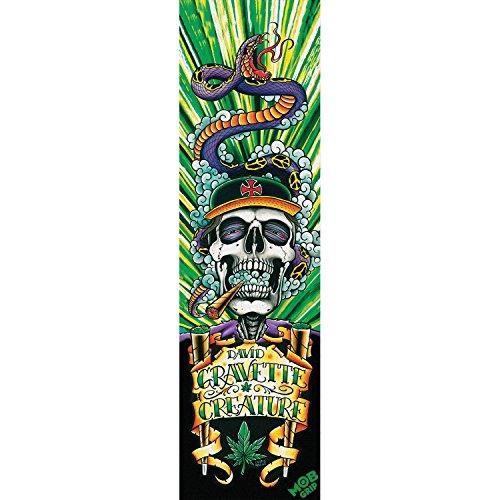 Creature Skateboards / Mob Gravette Hippy Skull # 4グリップテープ – 9