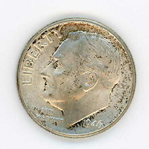 1946 D Roosevelt Dime MS-64