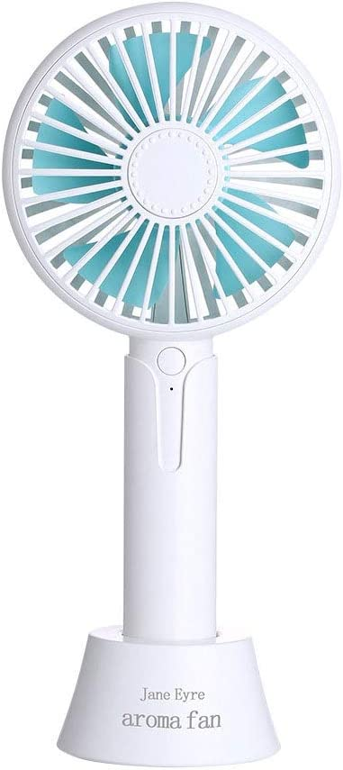 Portable USB Small Fan Mini Fan for Travel Camping 3 Speeds 3 Hours Handheld Mini Fan USB Powered Or Rechargeable 1200 MAh Great for Desktop Tabletop Office /& Travel