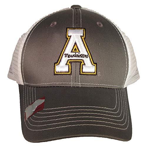 Collegiate Headwear Appalachian State Mountaineers Grey Ghost Baseball Cap mesh Back