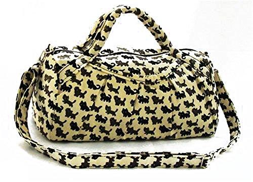 Fortunings JDS® Cartoon gatti tela stampata borsa tracolla