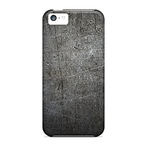 High Quality Shock Absorbing Case For Iphone 5c-scratched Gray