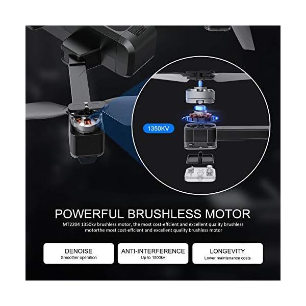 EACHINE EX3 Drone 2K Telecamera GPS Brushless 5G WiFi Lente Grandangolo Pieghevole Drone App Controllo FPV RTF 6 spesavip