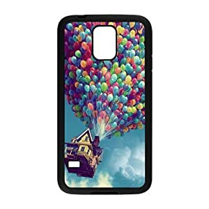 Danny Store Colorful Balloons Protective TPU Rubber Back Fits Cover Case for Samsung Galaxy S5