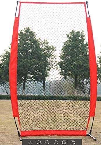 Baseball Net and Softball Net Training Block Baseball Training Net Foldable Portable Wakects Training Net for Baseballer