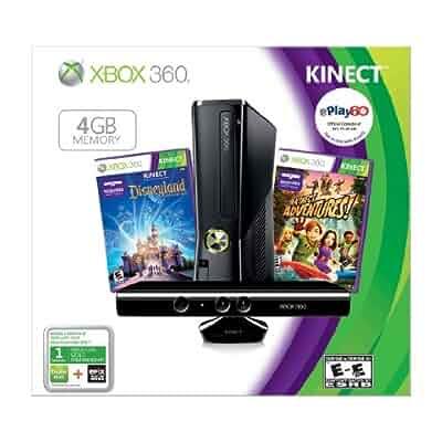 Amazon.com: Xbox 360 4GB with Kinect Holiday Value Bundle