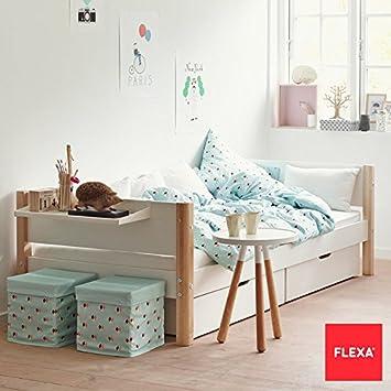 Flexa Kids Bed.Flexa Single Children S Bed With 2 Under Bed Storage Drawers Amazon