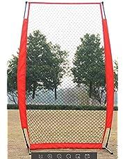 SOULONG Entrenamiento de Béisbol, Plegable Deporte al Aire Libre Entrenamiento de Béisbol Red,Baseball Net Practice Net Fence Redes 7x4 pies