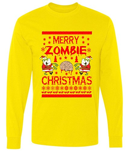 Merry Zombie Ugly Christmas Sweater