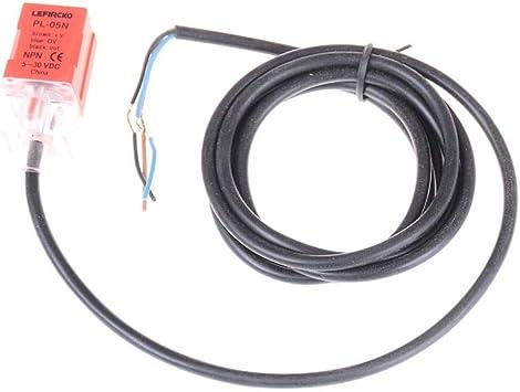 Pl-05N//2 Inductive Proximity Sensor Switch Npn No For Fotek Dc 6-36V No 5Mm CNCN