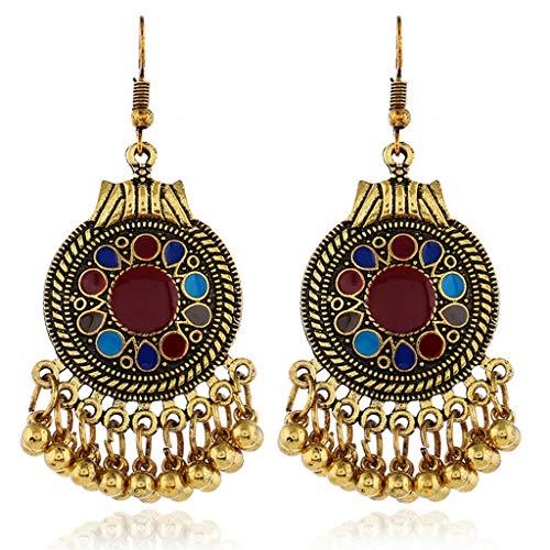 Womens Fringe Tassel Earrings Dangling Drop Earrings Enamel Beaded Ear Stud Necklace Jewelry Crafting Key Chain Bracelet Pendants Accessories Best