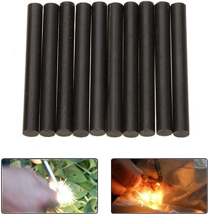 FULL Magnesium Rod Hot Flint Rod Camping Hiking Survival Fire Starter Lighter