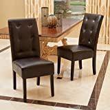 Christopher Knight Home 295204 Mira Dining Chair (Set of 2), Brown