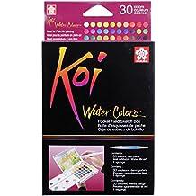 Koi Watercolor Pocket Field Sketch Box Set Of 30