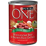 One Wholesome Beef & Brown Rice Entree – 12x13oz For Sale