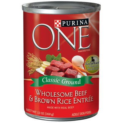 One Wholesome Beef & Brown Rice Entree - 12x13oz