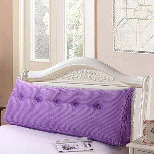 三角形の背部クッション、柔らかいベッド、ベッドの枕、睡眠用枕、洗える5色、5サイズ(色:E、サイズ:100CM)