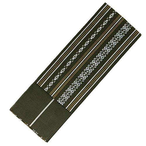 KYOETSU Men's Japanese Hakata Kaku Obi Kimono belt for sale  Delivered anywhere in USA