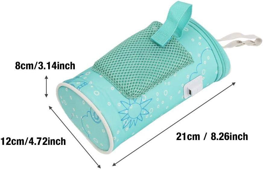Chauffe-Biberons Sac Biberon Isotherme Sac de Voyage USB R/échauffeur Bouteille de Lait Maternel Sac Thermostatique