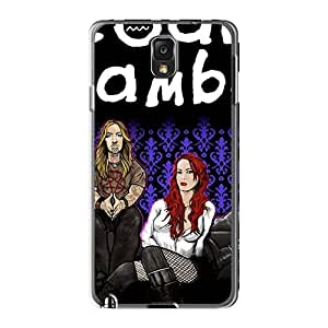 KennethKaczmarek Samsung Galaxy Note3 Excellent Cell-phone Hard Covers Customized Realistic Coal Chamber Band Series [amU19616tCpx]