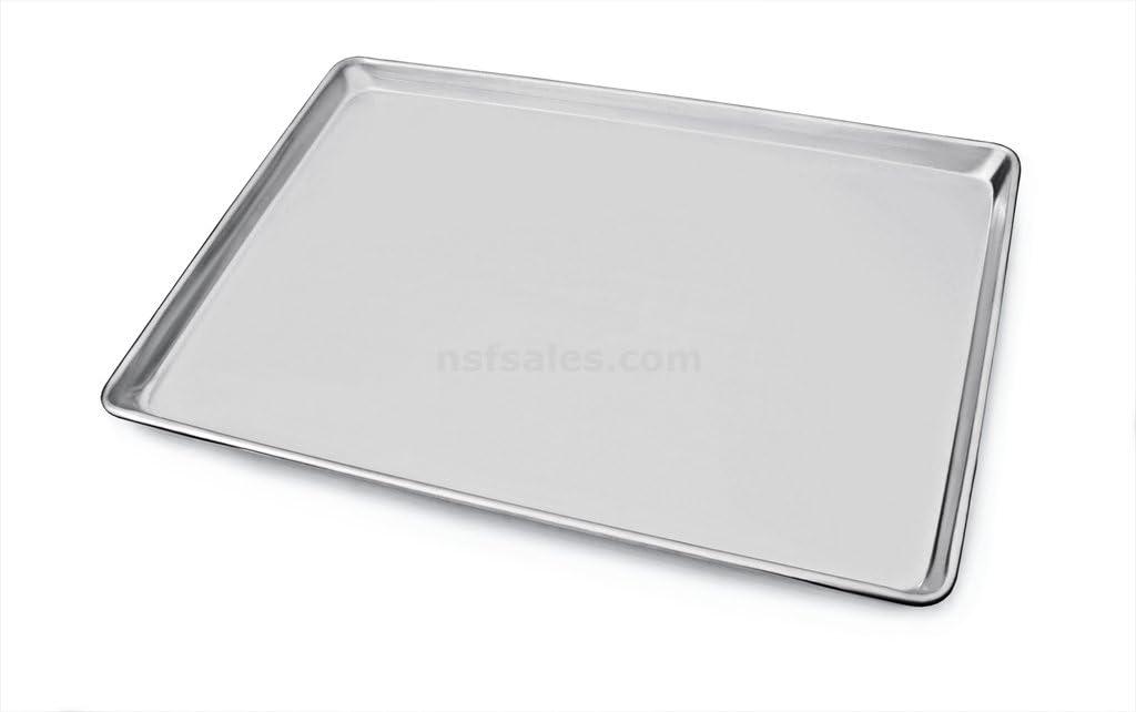 New Star Foodservice 36848 Commercial-Grade 18-Gauge Aluminum Sheet Pan/Bun Pan, 9