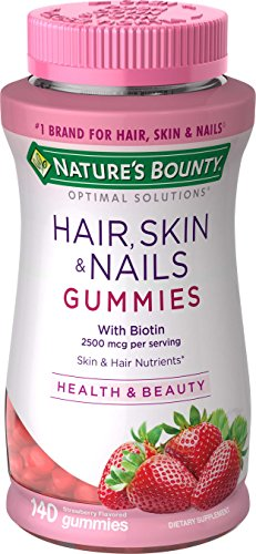 - Nature's Bounty Optimal Solutions Hair, Skin, Nails, 140 Gummies
