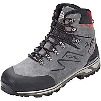 Image of Boreal Athletic Boots Mens Yucatan Leather Trekking WP 11 Gris 44854 Climbing